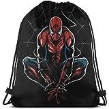 d9fa0cb64 MPJTJGWZ Classic Drawstring Bag-Cool Spider Man Gym Backpack Shoulder Bags  Sport Storage Bag for