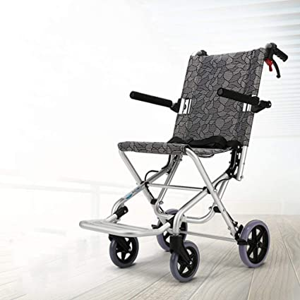 Amazon.com: Banluo - Silla de ruedas plegable, ligera ...