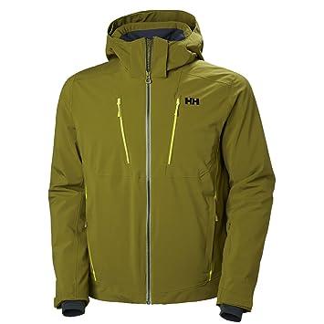 Helly Hansen Mens Alpha 3.0 Ski Jacket, Fir Green, ...