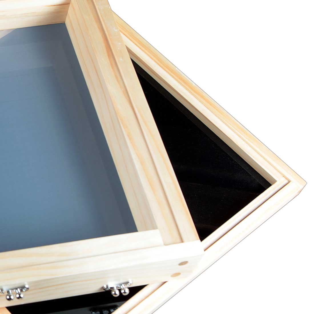 RYOT 15x15 ''Growers Box'' XL Natural Finish Wooden Pollen Sifting Box with Monofilament Screen by RYOT (Image #6)