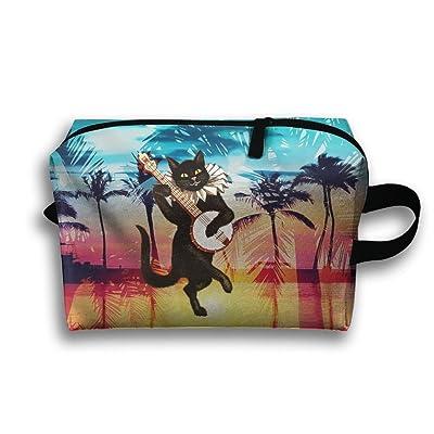 Banjo Cat Travel Bag Multifunction Portable Toiletry Bag Organizer Storage