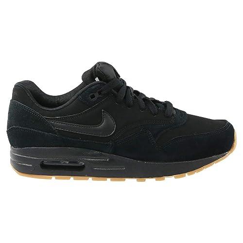 premium selection 0f496 facc0 Nike Air MAX 1 (GS), Zapatillas para Hombre, Black Gum Light Brown 001, 39  EU  Amazon.es  Zapatos y complementos