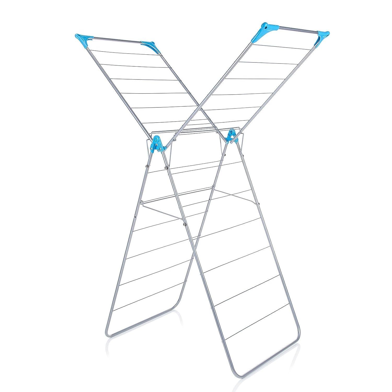 Minky X Wing Séchoir Pour l'intérieur Blanc GroceryCentre IH86090101