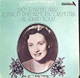 Kathleen Ferrier: Bach & Handel Arias LP VG++/NM Canada Ace Of Diamonds SDD 2184