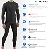 JustOneStyle New Men Sports Winter Warm Thermal