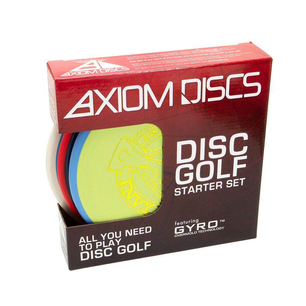 Axiom Disc Golf 3-Disc Premium Box Set by Axiom Discs