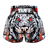 Tuff Muay Thai Shorts TUF-MS613-GRY-L