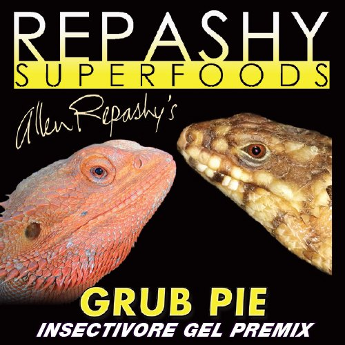 Repashy Grub Pie Insectivore Diet Gel Premix (Reptile) – All Sizes – 6 Oz JAR