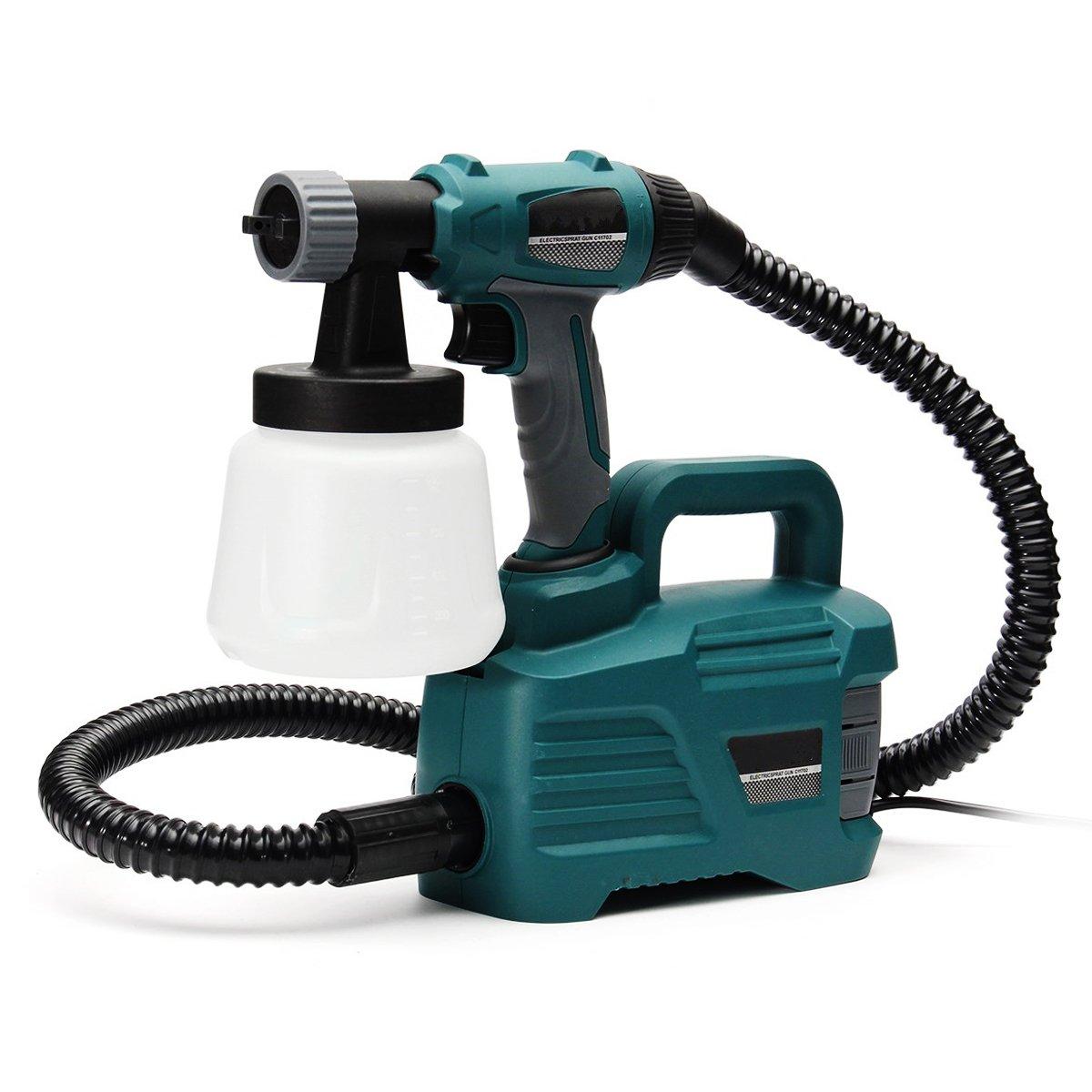 800W 900ML Electric Painter Gun Spray Latex Paint Sprayer House Painting Machine by Ologymart (Image #2)