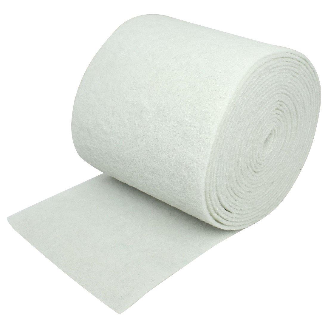 Uxcell Aquarium Tanks Biochemical Polyether Filter Sponge, 6-Feet, White