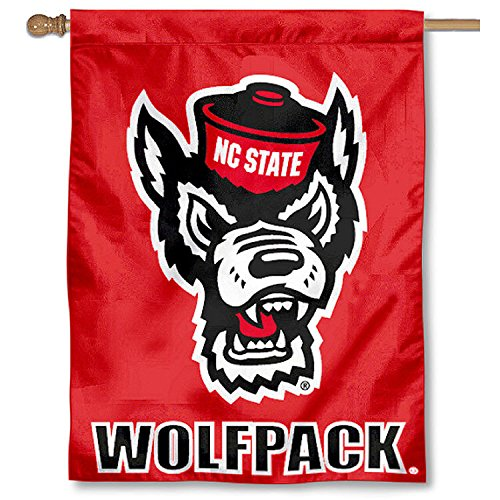 NC State Wolfpack Banner House Flag
