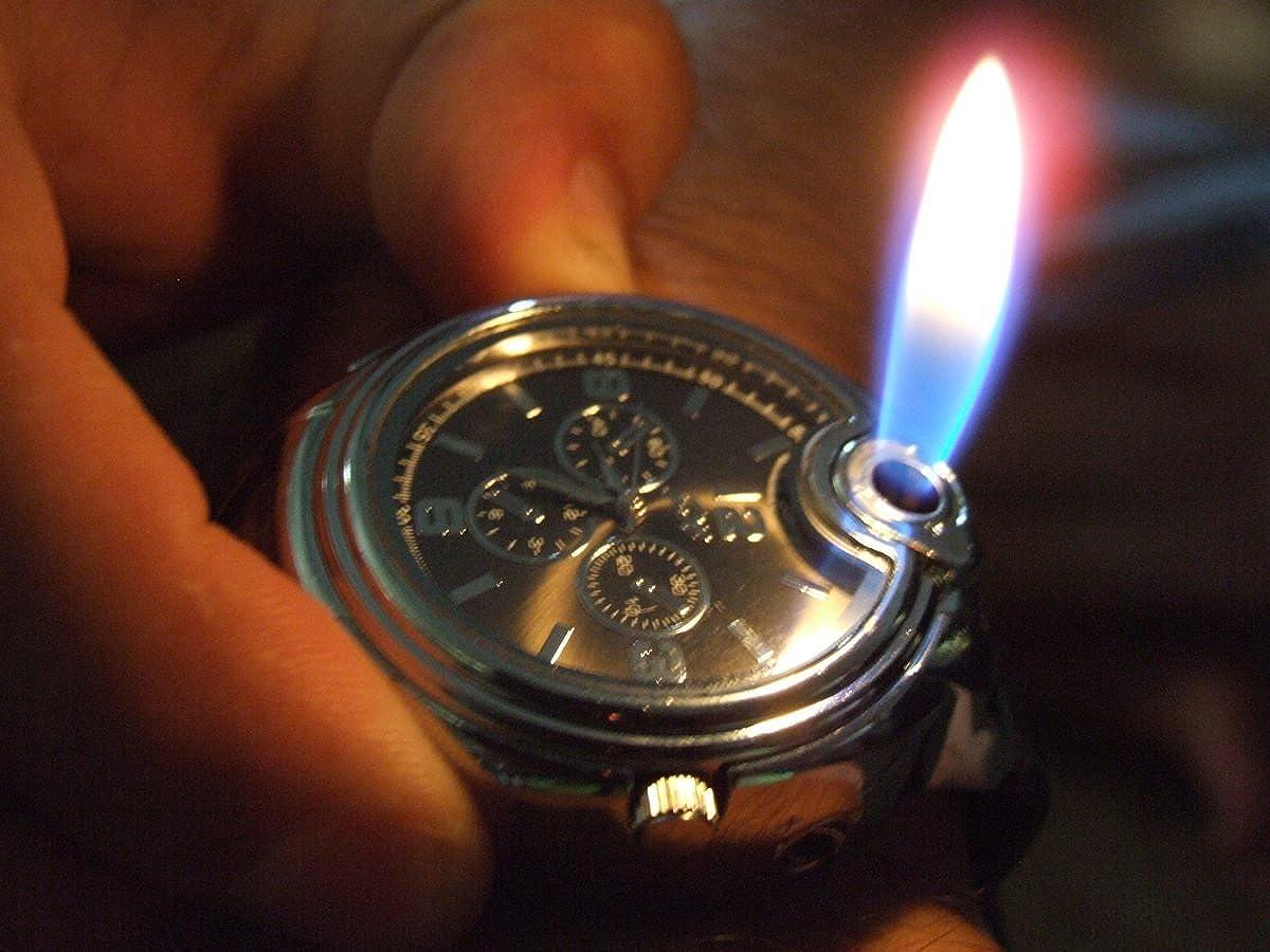 Wrist stylish watch lighter catalog photo