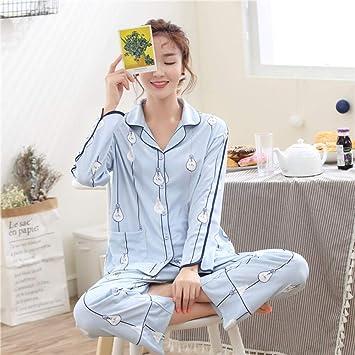 Pijamas Pantalones De Pijama Pijama De Punto De Manga Larga Para ...