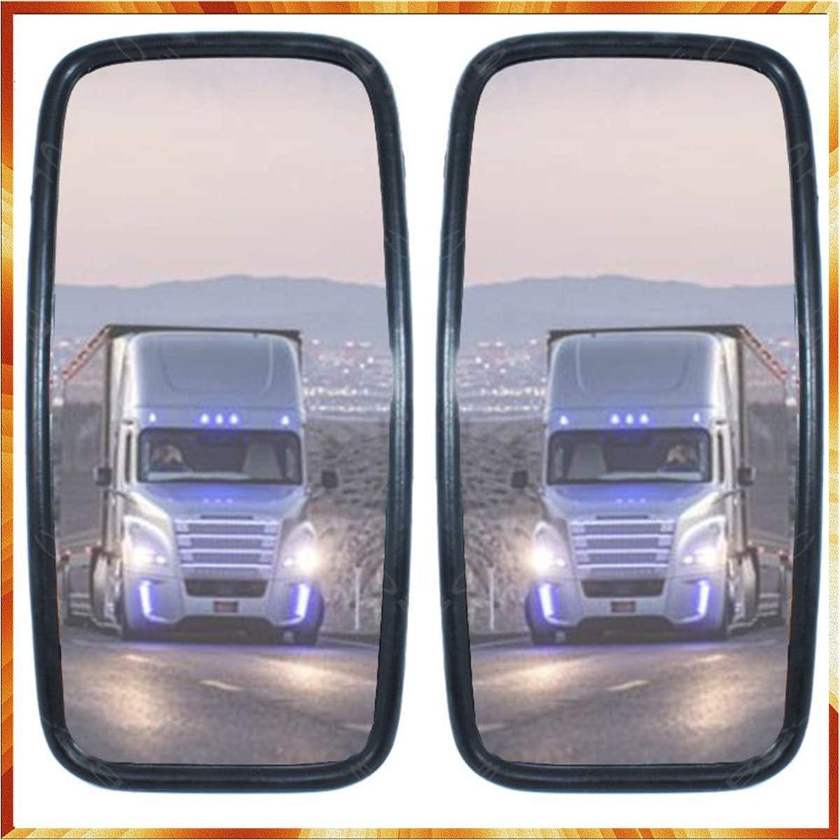 Lot de 2 r/étroviseurs ext/érieurs universels pour camion 36 x 18 cm bus