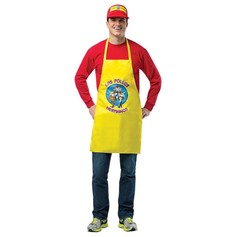 Walter traje de los Pollos Hermanos Breaking Bad delantal ...