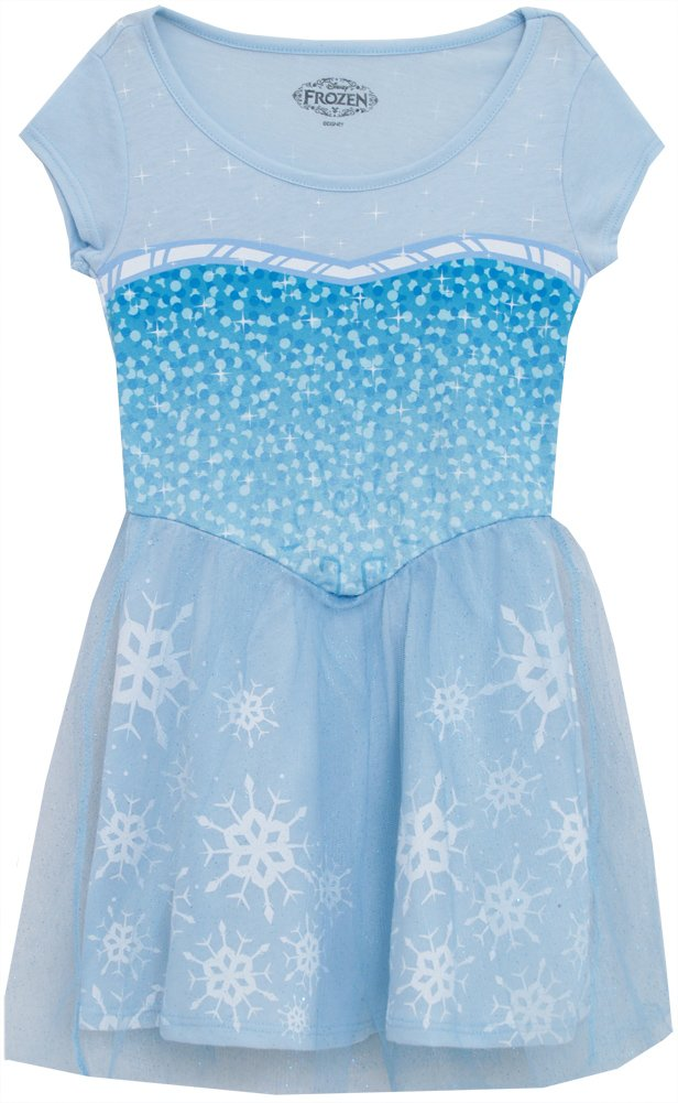Disney Frozen I Am Elsa Girls Skater Dress (X-Large (14-16))