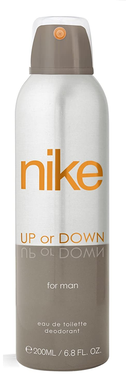 Buy Nike Up Or Down Silver Deo For Men, 200ml Online at Low Prices ...