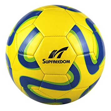 Supfreedom Balón de fútbol para césped de 2,7 mm, Espuma de PVC ...