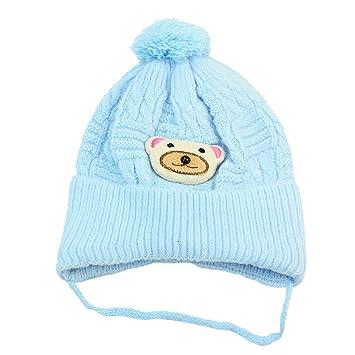 Baby Winter Warme Schöne Bären Mütze gestrickte Häkelarbeit Beanie ...