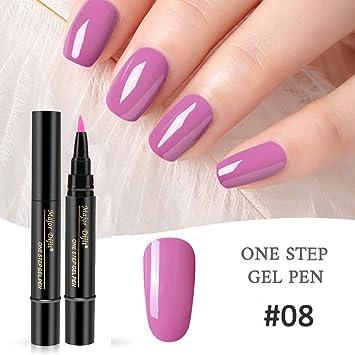 Amazon.com: Ofanyia One Step - Esmalte de uñas de gel de ...