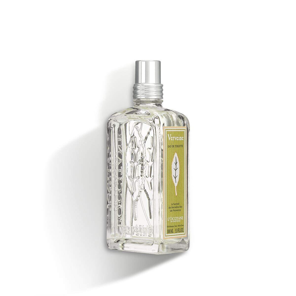 L'Occitane Refreshing Verbena Eau de Toilette Enriched with Organic Verbena, 3.3 fl. oz. by L'Occitane