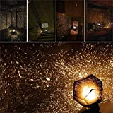 Third Generation Fantasy Romantic Sky Map Projector,Aeeque Astrostar Astro Star Laser Projector Cosmos Romance Light Lamp DIY - Should Assemble By Yourself (with Adapter)