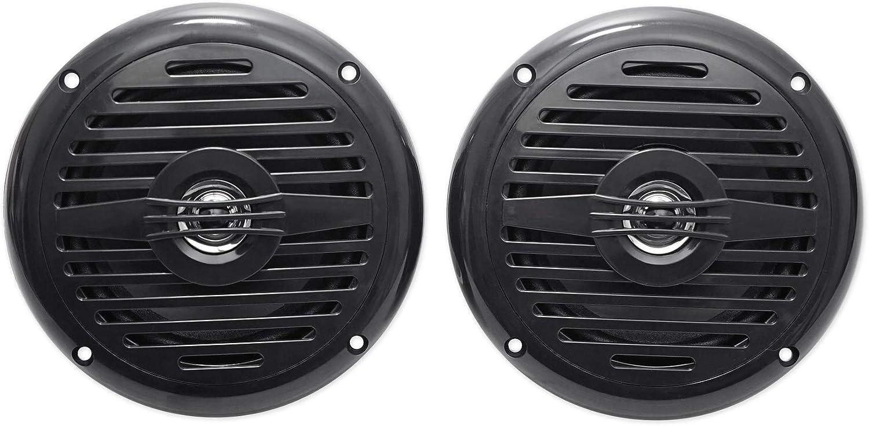 4 Rockville MS525W 5.25 800 Watt Waterproof Marine Boat Speakers 2-Way White