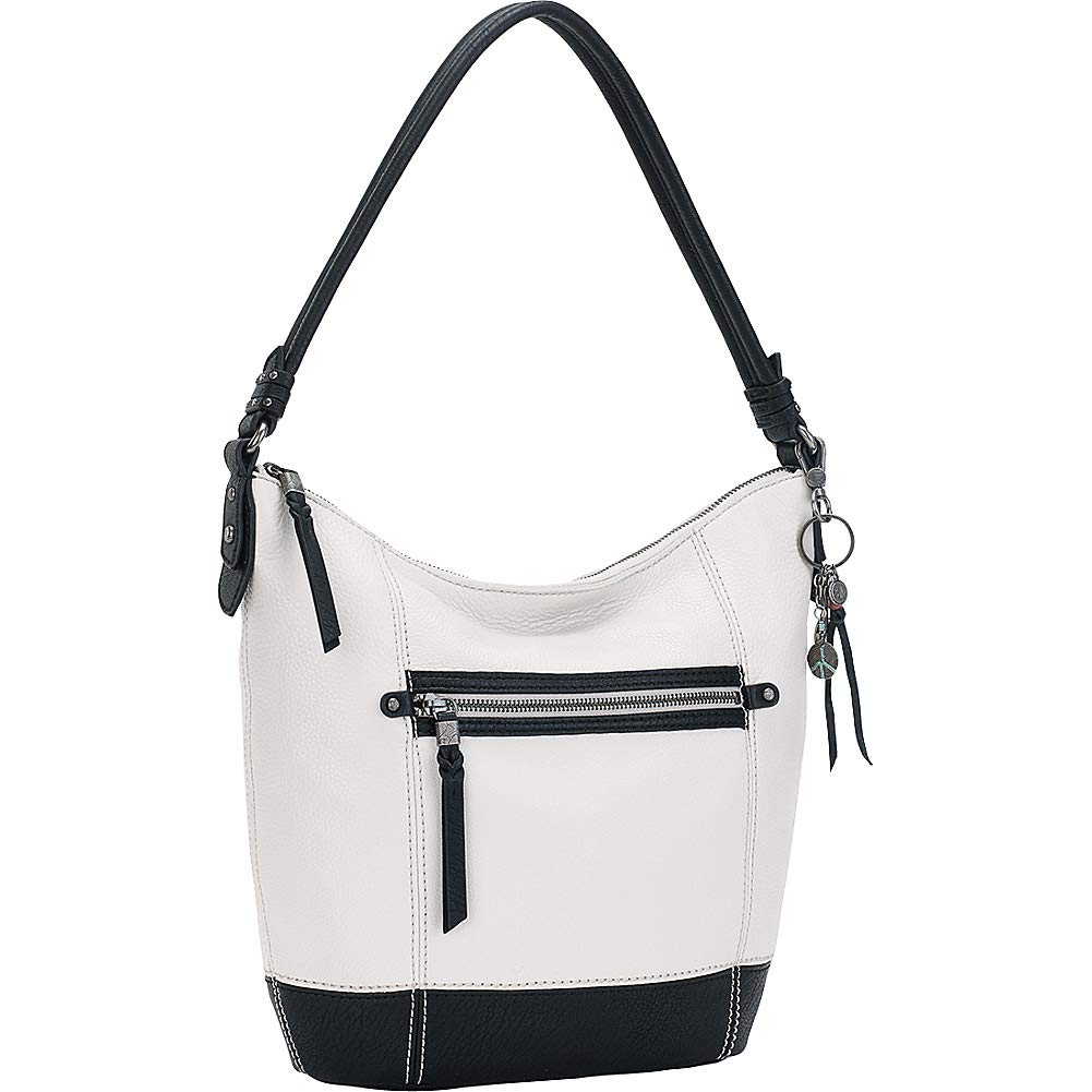 The Sak Sequoia Hobo-Color Block,  Black/White, One Size
