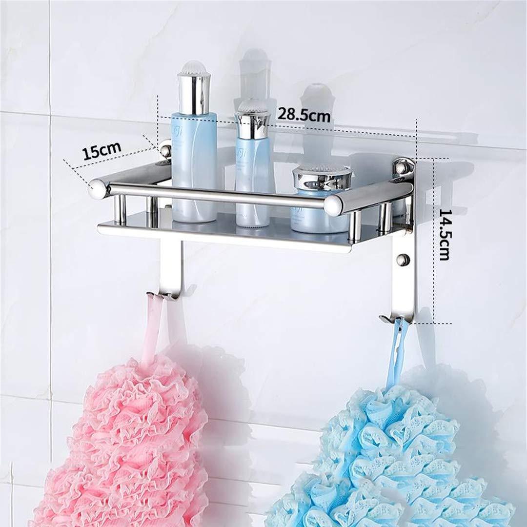 304 Stainless Steel Corner Basket Bathroom Products Luxury Cosmetic Storage Bathroom Shelf Holder Bathroom Accessories Ks10 1 Tier
