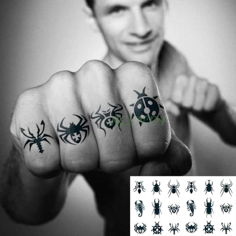 ljmljm 5 Piezas Pegatinas de Tatuaje a Prueba de Agua alas de ...