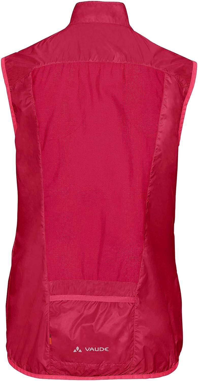 Color Primavera//Verano VAUDE Air Vest III Chaleco para Mujer Mujer