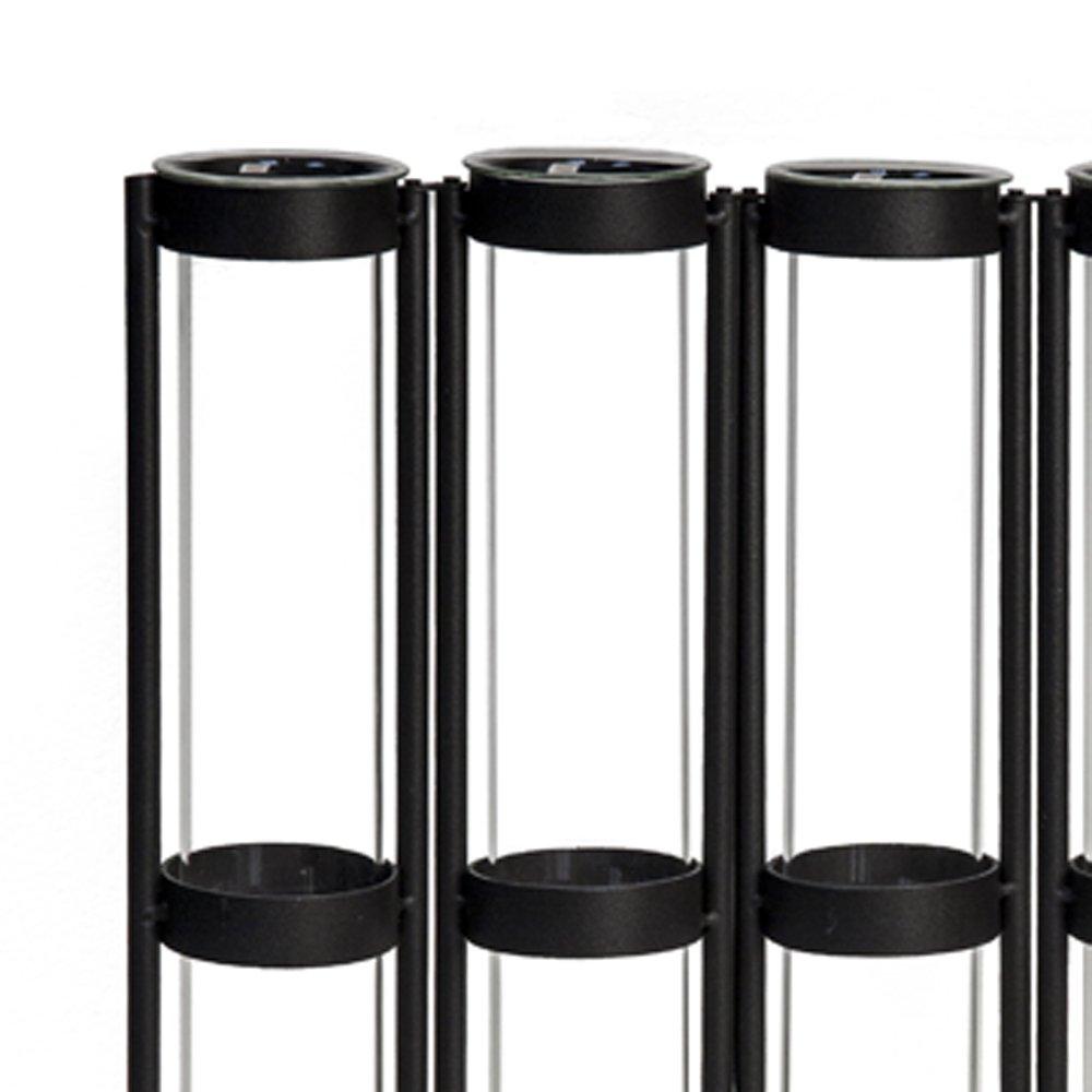 Danya B Rustic Six Tube Hinged Bud Vase