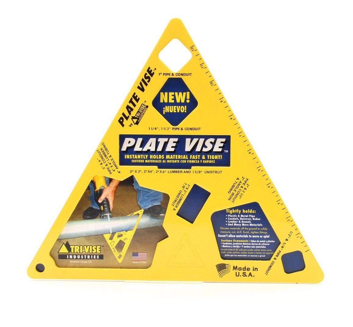 Tri-Vise PVL001 4'' Plate Vise