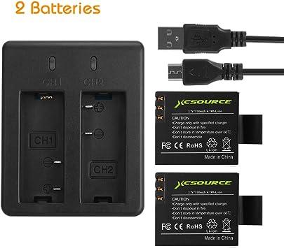 Cámara de batería cargador dual para Jay-Tech videocámara Full-HD 12z