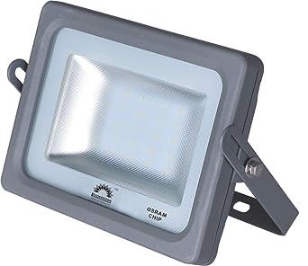 Foco Proyector LED 15w 1650lm ultrafino exterior luz fría 6500k ...