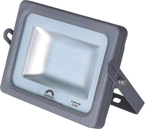 Foco Proyector LED 15w 1650lm ultrafino exterior luz fría ...