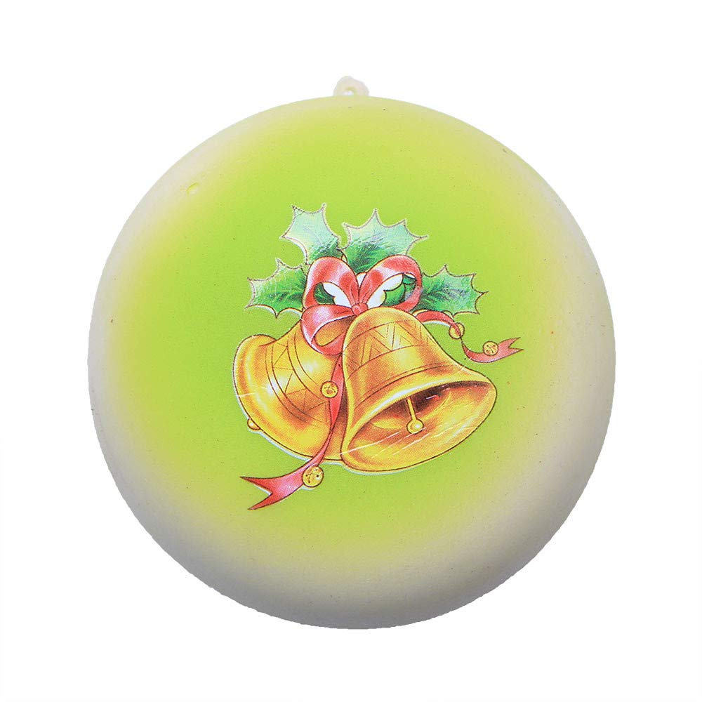 Hot Christmas Bell Bread Slow Rising Scented Relieve Stress Toy Key Pendant