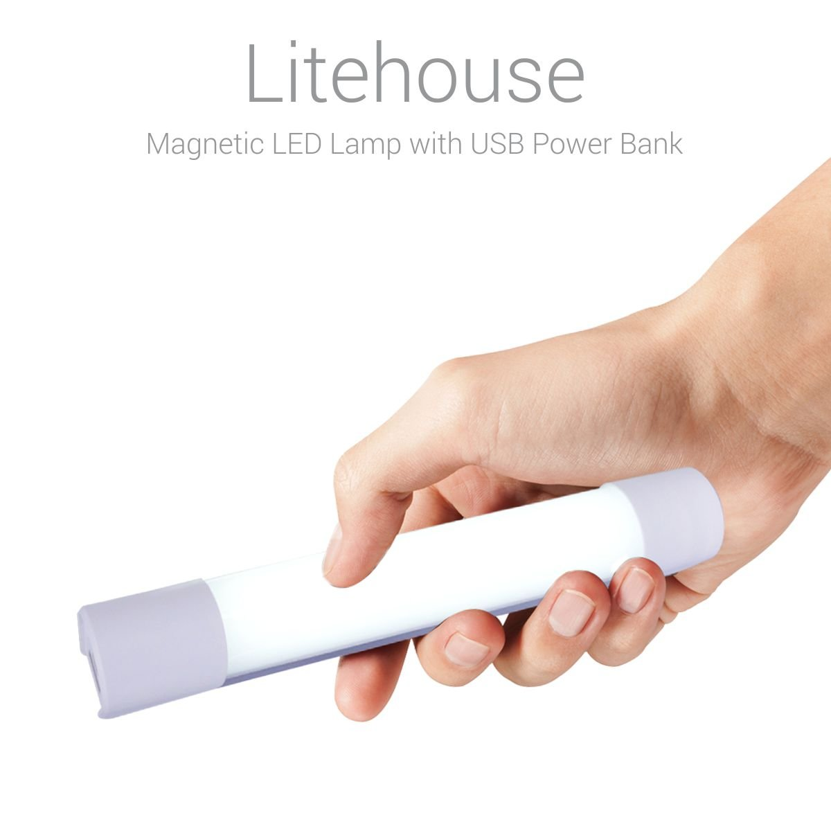 Portronics Litehouse Magnetic LED Lamp with