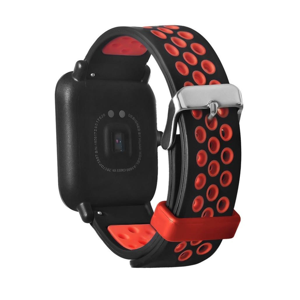 Amazfit Bip Correa, Zolimx Moda Ligero Ventilar Smart Watch Pulsera Pulsera para Amazfit Deportes Banda