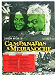 Chimes At Midnight (Aka Falstaff Aka Campanadas A Medianoche) Spanish Poster Art From Left: Jeanne Moreau Orson Welles 1965. Movie Poster Masterprint (24 x 36)