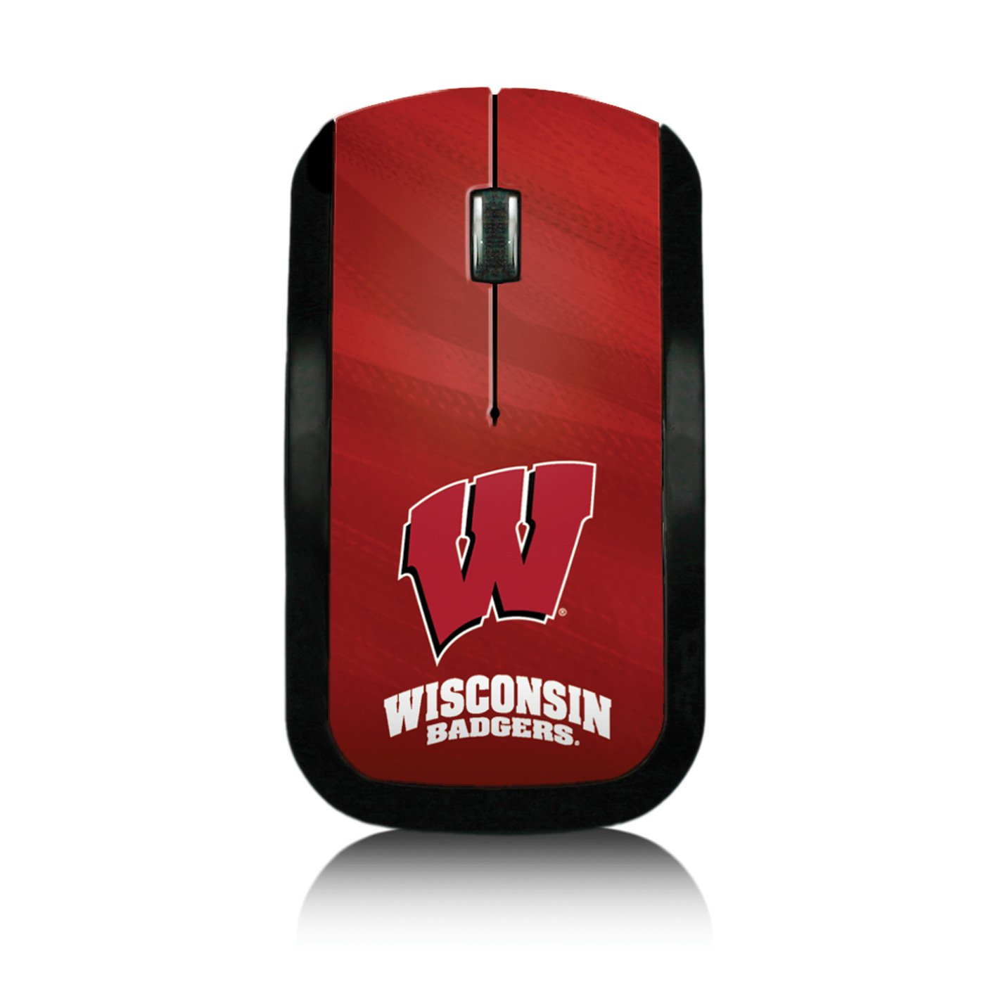 Keyscaper Wisconsin Badgers Wireless USB Mouse NCAA