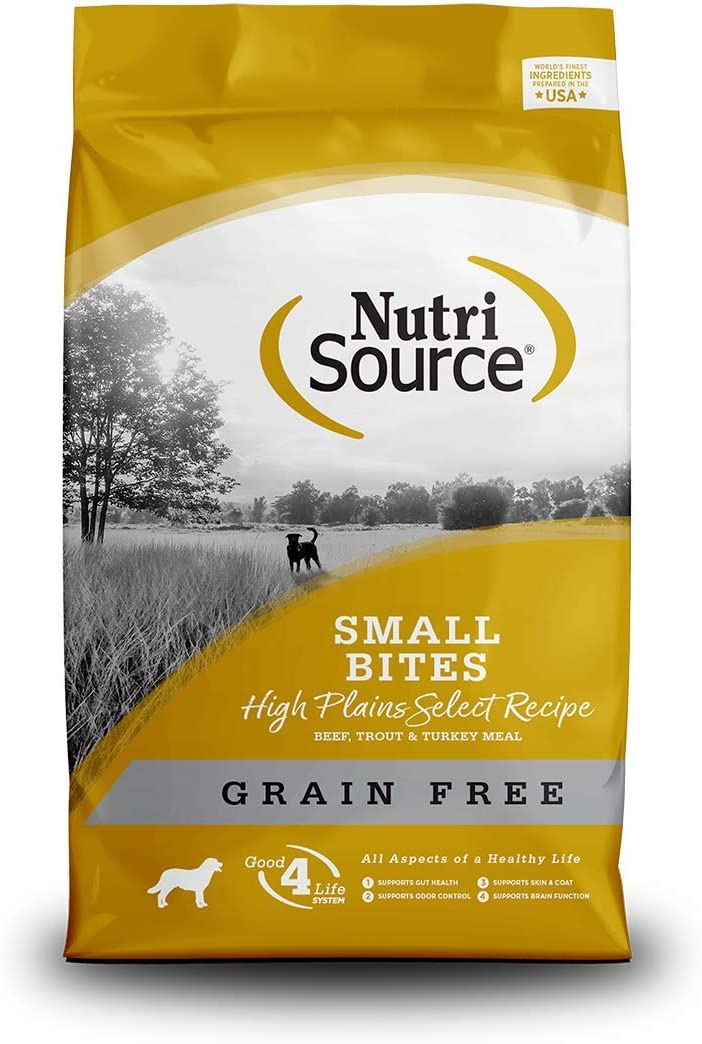 Nutrisource Grain Free High Plains Select Small Bites 15Lb