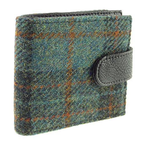 Gents Colours Tweed Section Coin 4 Col Wallet with Various Harris 17 in COL Authentic rzwYqEr