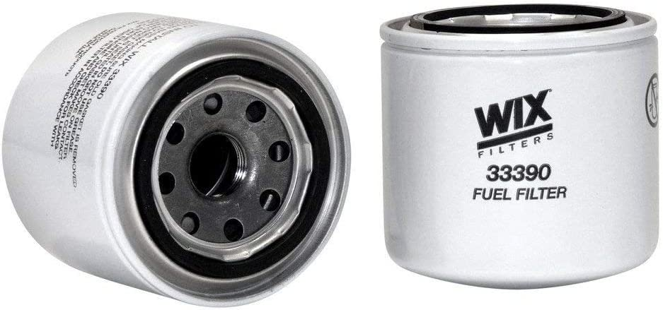 WIX Filters - 33390 Heavy Duty Spin-On Fuel Filter, Pack of 1