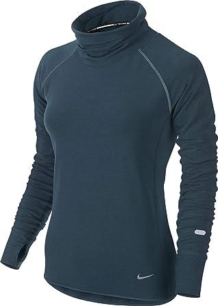 057e99d94441 Amazon.com  Nike Women s Dri-fit Feather Fleece Pullover  Clothing