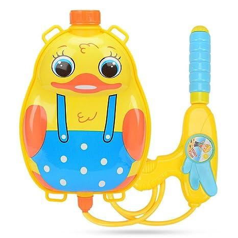 Pequeña Mochila Pistola de Agua para Niños Juguete de Tirador de Agua de Mochila de Forma