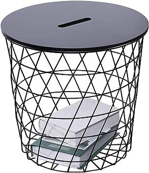 Amazon Com Coffee Tables Simple Nordic Iron Storage Corner Corner