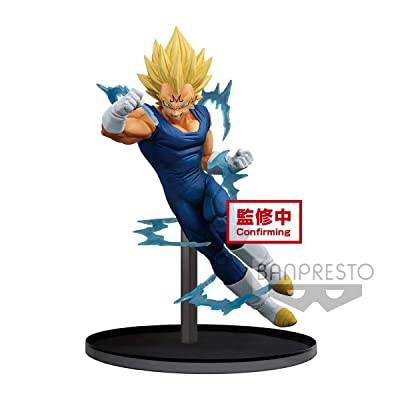 Banpresto Dragon Ball Z Dokkan Battle Collab-Majin Vegeta-: Toys & Games