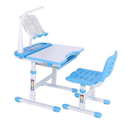 GOTOP Chlildren Juego de sillas de Escritorio para niños, Altura ...