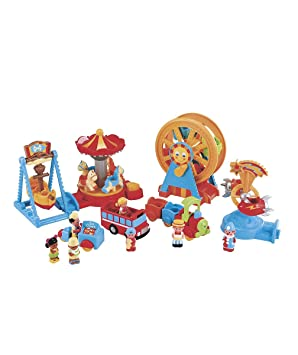Early Learning Centre Happyland Ready To Play Funfair Set Amazon